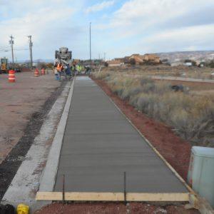 sidewalk paving